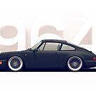 Porsche 964 by Philip Ackermann