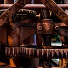 Gears of The Old Rusty Ship Crane by arc1