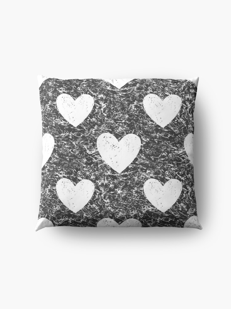 Alternate view of Cozy Hearts Floor Pillow
