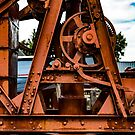 The Old Rusty Ship Crane by arc1