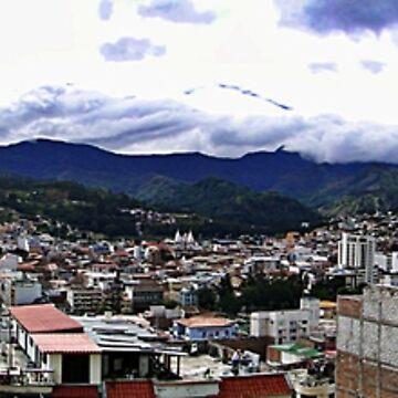 Loja, Ecuador Panorama by alabca