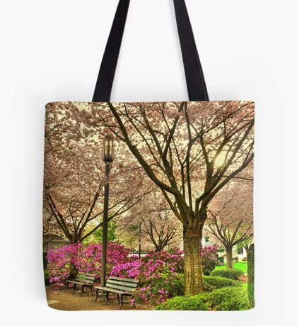 Spring day at the State Park Salem Oregon Tote Bag