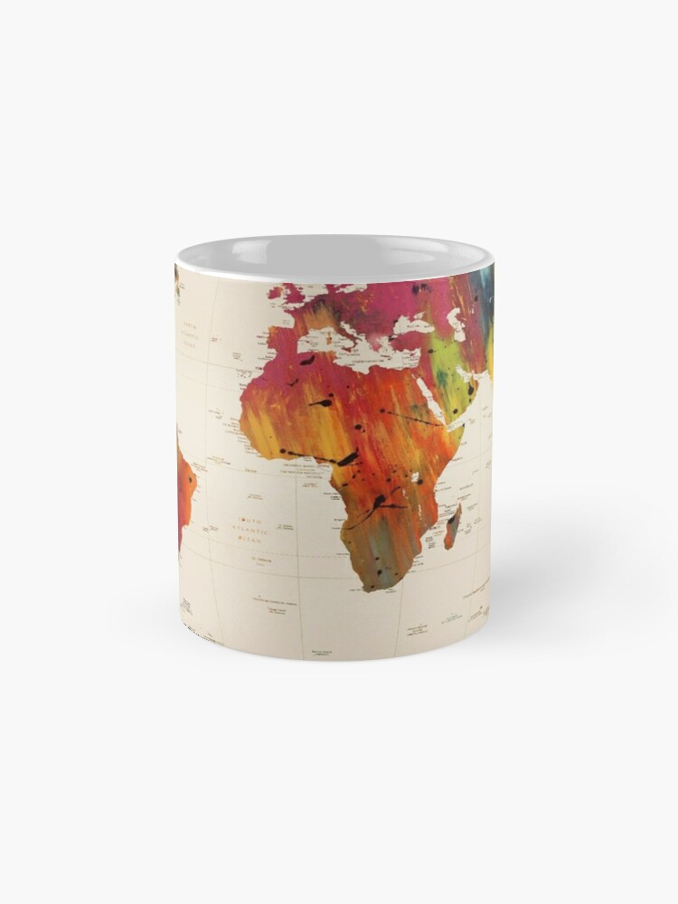 Alternate view of ALLOVER THE WORLD Mug