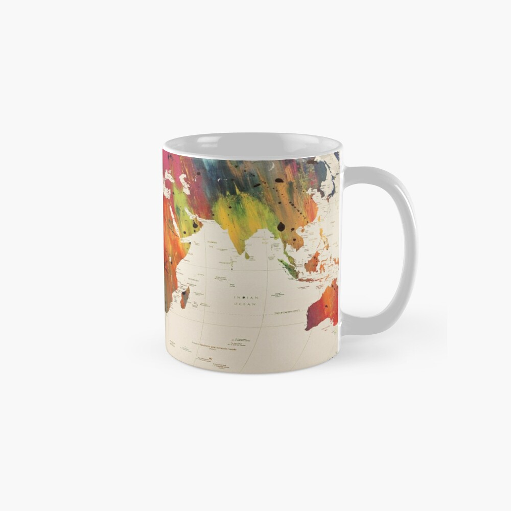 ALLOVER THE WORLD Mug