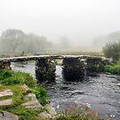 Clapper Bridge North Devon by ten2eight