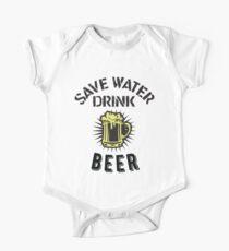 Save Water Drink Beer One Piece - Short Sleeve