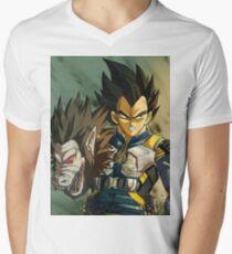 Camiseta para hombre de cuello en v Todos los Hail King Killmonger