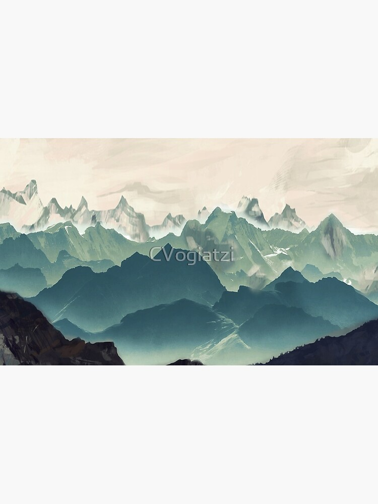 Shades of Mountain by CVogiatzi