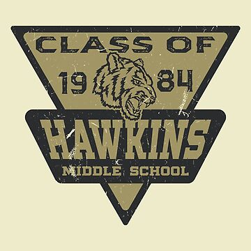 Hawkins Middle School Class of 1984 by NinjaDesignInc