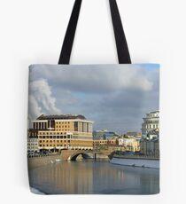 City scenery Tote Bag