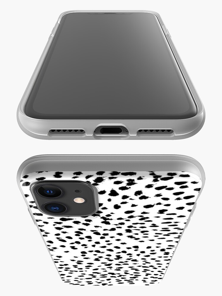 Alternate view of Dalmat-b&w-Animal print I iPhone Case & Cover