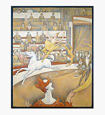 The Circus by Georges Seurat, 1891 Photographic Print
