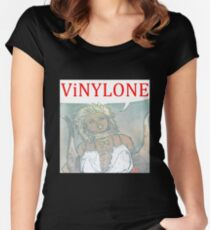 Vinylone color Aria Big Fitted Scoop T-Shirt