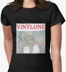 Vinylone color Aria Big Women's Fitted T-Shirt