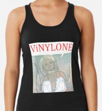 Vinylone color Aria Big Racerback Tank Top