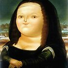 Fat Mona Lisa by boothedog