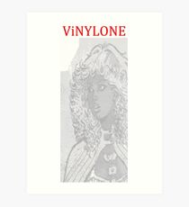 Vinylone watermark Aria Art Print