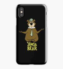 Yogi Bear Yoga iPhone Case/Skin