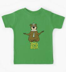Yogi Bear Yoga Kids Tee