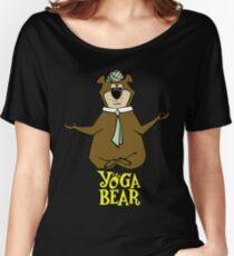 Yogi Bear Yoga Women's Relaxed Fit T-Shirt
