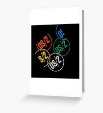 IBM OS/2 Logo Greeting Card