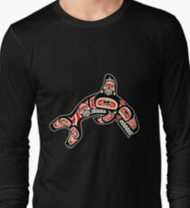 Alaskan Orca Long Sleeve T-Shirt