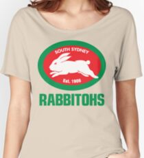 South Sidney Rabbitohs Women's Relaxed Fit T-Shirt
