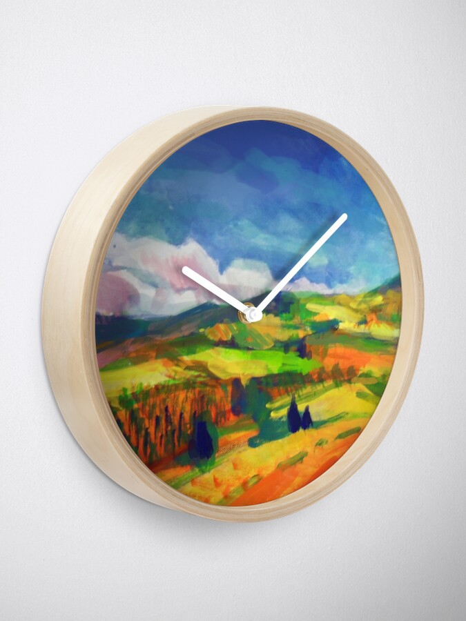 Alternate view of Clouds Clock