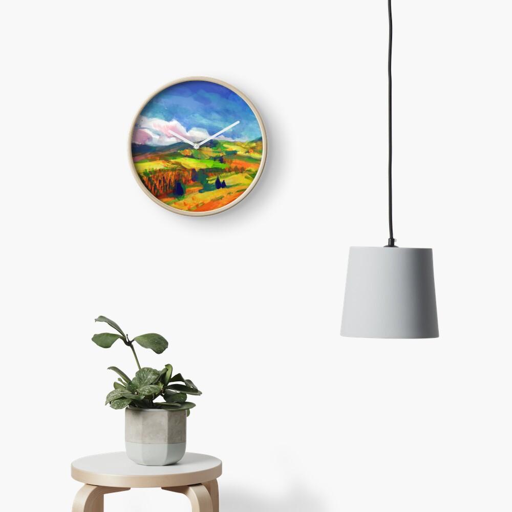 Clouds Clock