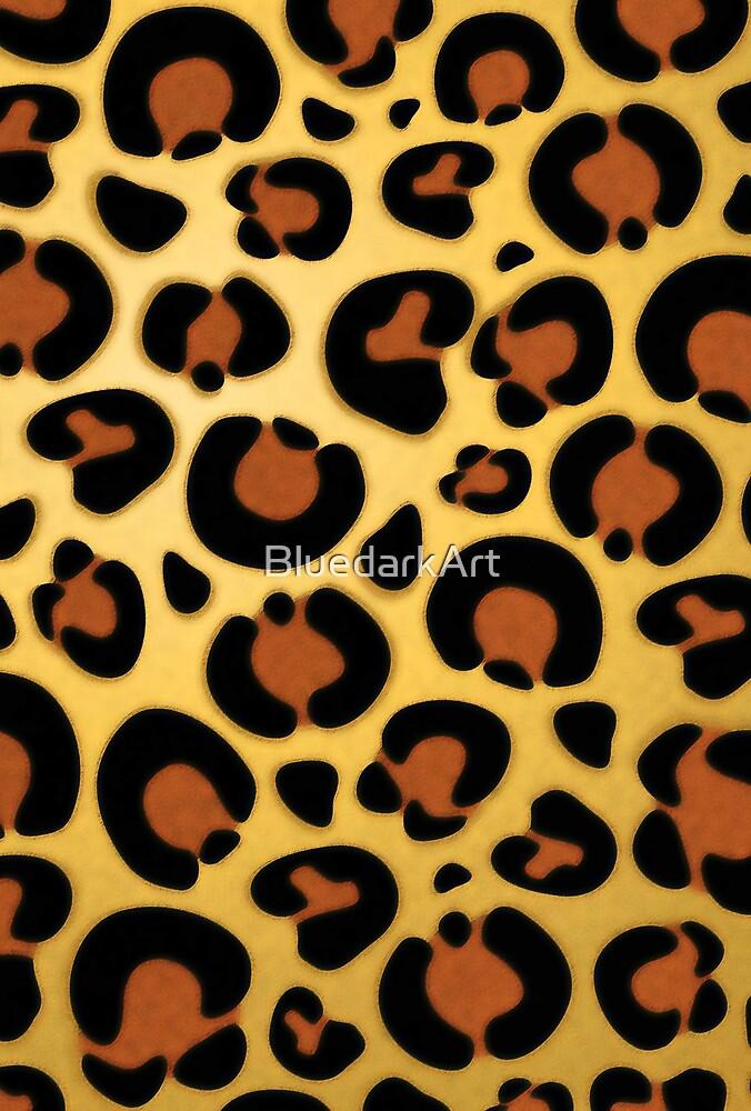 Jaguar Leopard Fur Texture by BluedarkArt