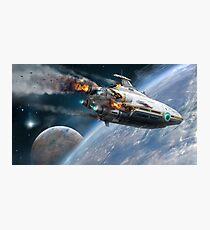 Lámina fotográfica subnautica aurora