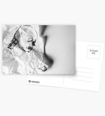 Crumpled Postcards