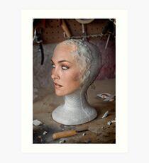 Sculpt Art Print