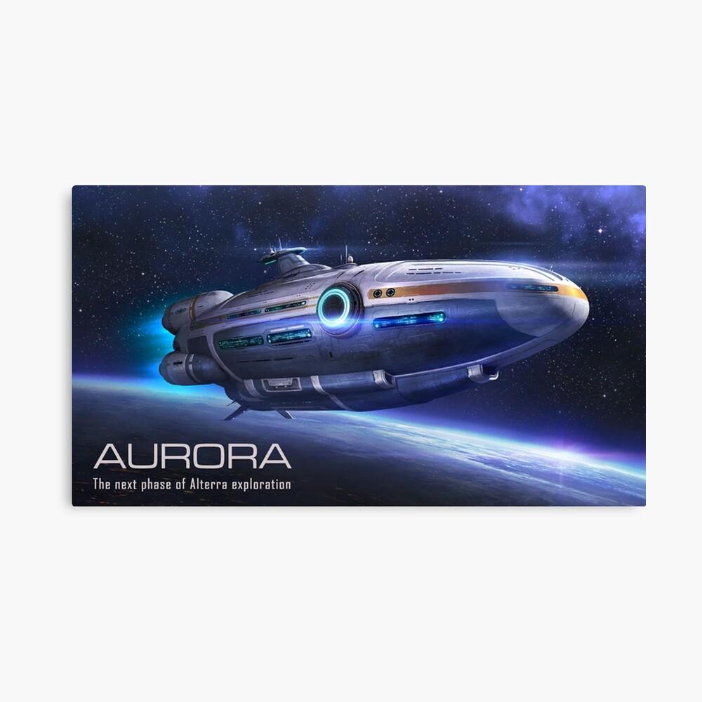 subnautica aurora 2 Leinwanddruck