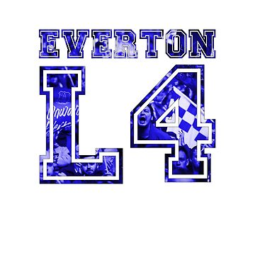 Everton Postcode by thestash