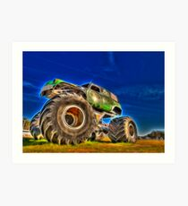 Power Wheel Art Print