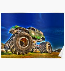 Power Wheel Poster