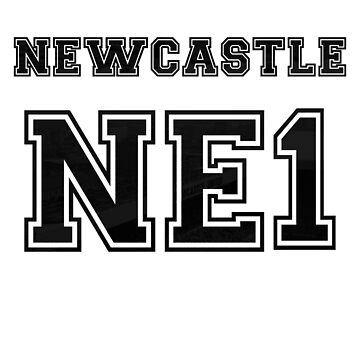 Newcastle Postcode by thestash