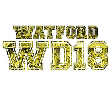 Watford Postcode by thestash