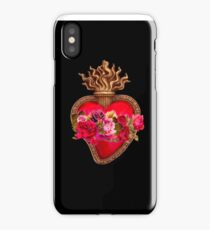 Red Immaculate Heart - Sacred Heart iPhone Case
