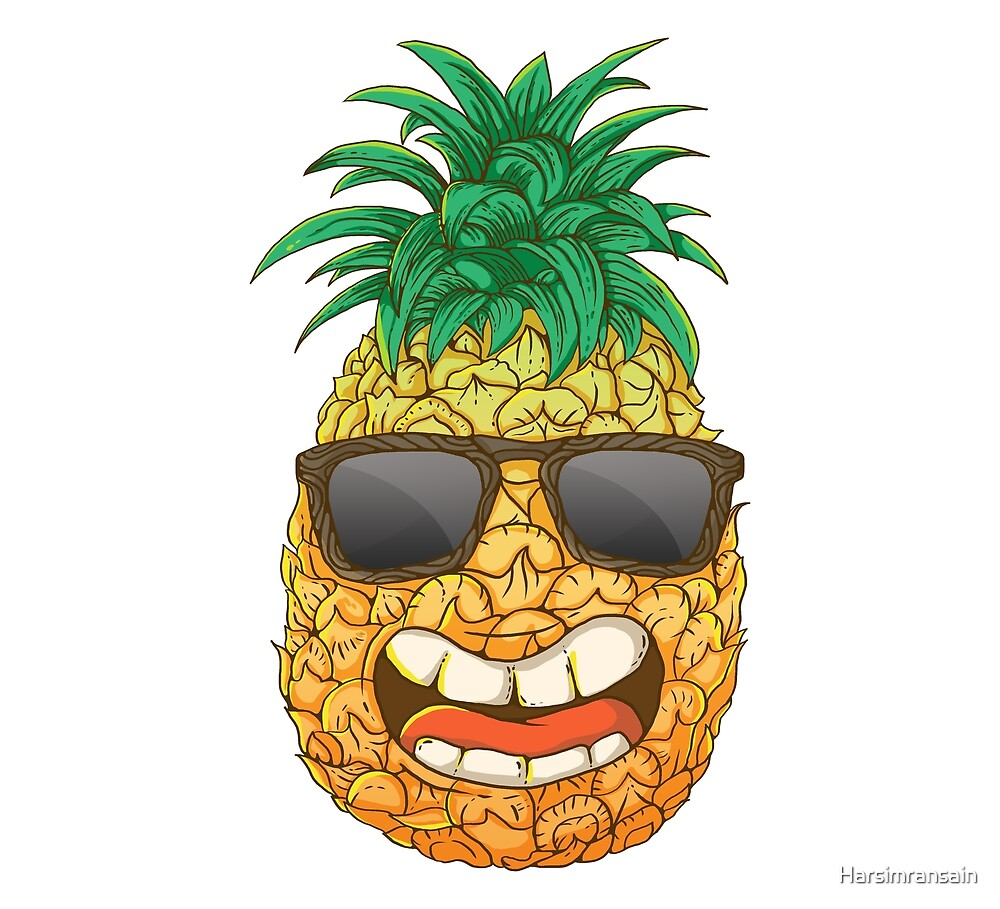 Cool Pineapple by Harsimransain