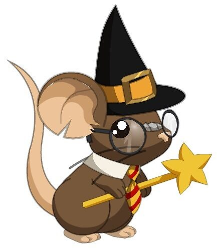 Wizard Mouse by AnUnseenGod