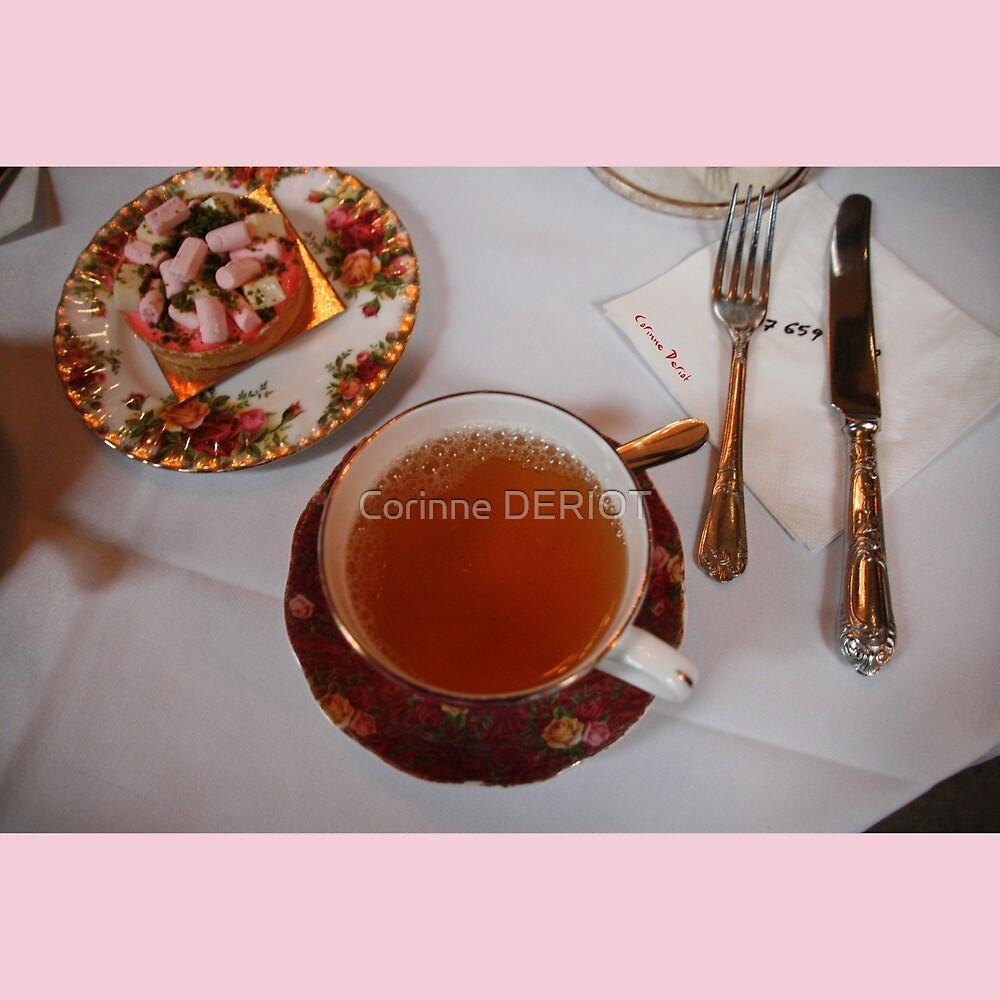 Tea time in London 02 (limited edition of 30 copies) by Corinne DERIOT