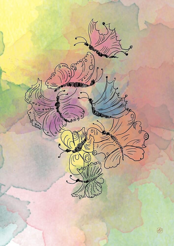 Flowers of 3 by Mariya Foteva