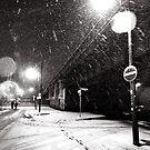 snowy night by Markus Mayer