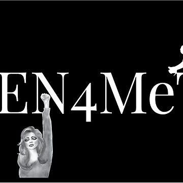 Men4MeToo Black or Dark Colored Tee by vernice2018