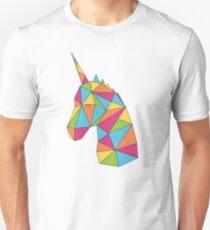 Unicorn Rainbow Colors Unisex T-Shirt