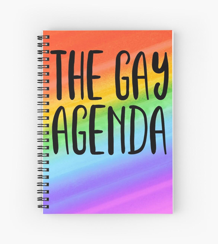 the gay agenda by katrinawaffles