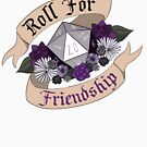 Roll For Friendship! - Asexual Pride by Sam Spicer