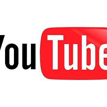 Youtube Logo Merchandise by KathyDykes